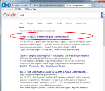 SEO Search Engine Optimisation by Sonic IT-Solutions